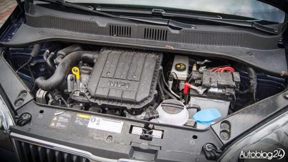 Skoda Citigo Style - silnik MPI