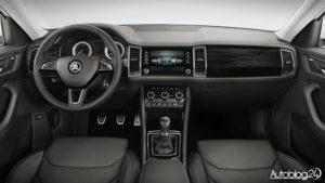 Skoda Kodiaq SUV - wnętrze