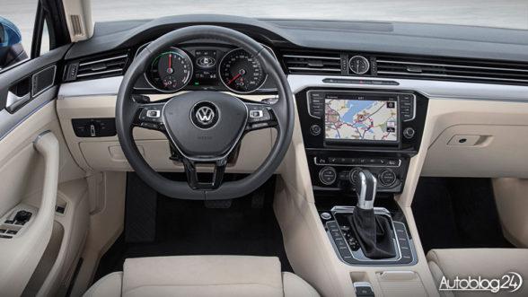 Volkswagen Passat GTE - wnętrze