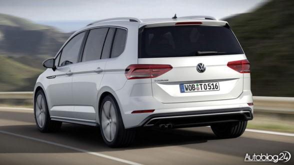 Volkswagen Touran R-Line 2016 - tył