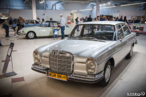 Warsaw Oldtimer Show 2016 - Mercedes Klasy S