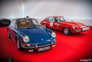 Warsaw Oldtimer Show 2016 - Porsche i Jaguar