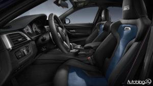 BMW M3 30 Jahre - wnętrze