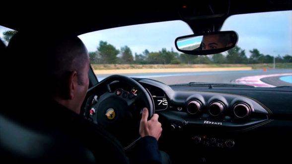 Chris Harris - Ferrari F12 TDF