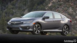Honda Civic 2017 - przód