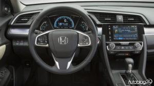 Honda Civic 2017 - wnętrze