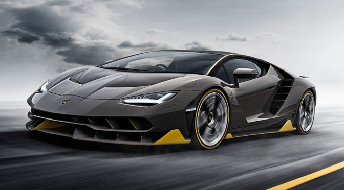 Lamborghini Centenario na ulicy - niby zwykłe wideo z wyjazdu z fabryki, a szczęka i tak opada