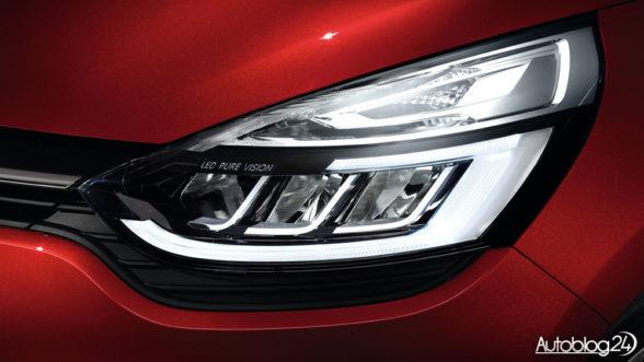 Renault Clio - światła LED