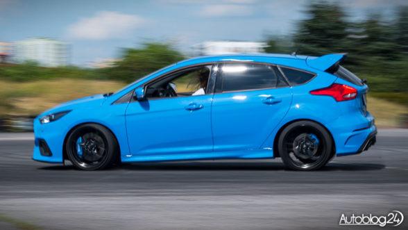 Ford Focus RS - drift