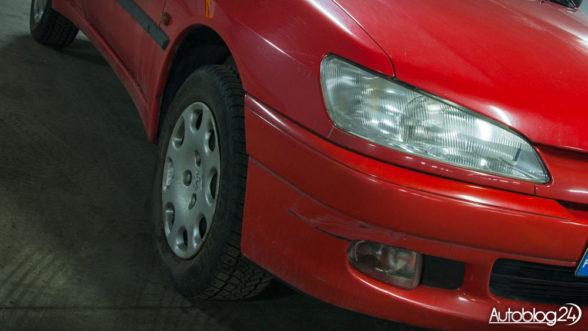 Peugeot 306 - przedni zderzak