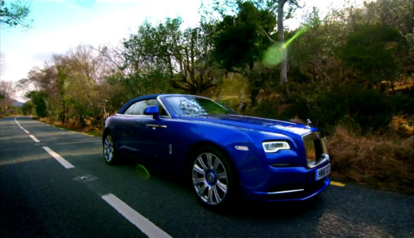 Rolls Royce Dawn w Top Gear