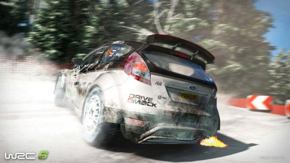WRC 6 (2016) na PS4
