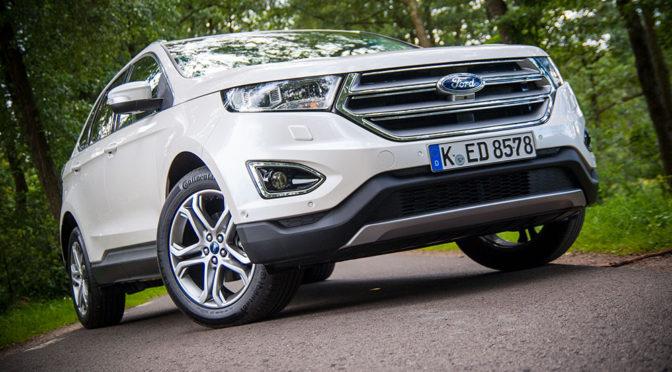 Ford Edge 2,0 TDCi Titanium, czyli SUV niczym czołg – wrażenia z jazdy