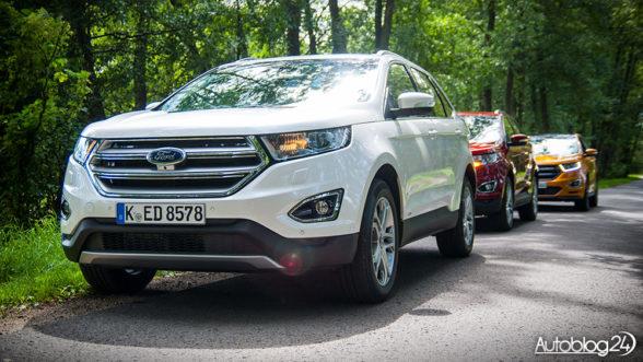 Ford Edge Titanium i Sport