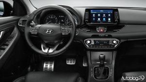 Hyundai i30 2017 - wnętrze