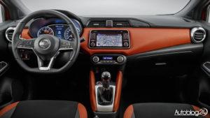 Nissan Micra 2017 (K14) - wnętrze