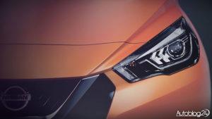 Nissan Micra 2017 - światła LED z przodu