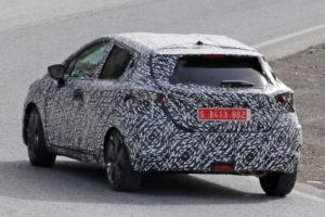 Nissan Micra K14 2017 - bok