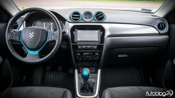 Nowe Suzuki Vitara - kokpit