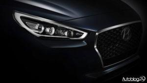 Nowy Hyundai i30 (2017) - LED
