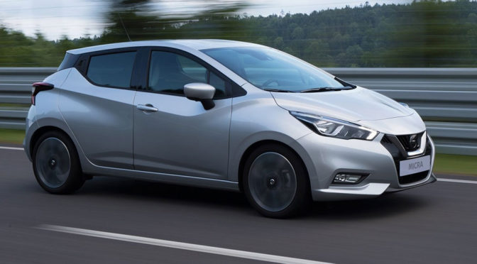 Nowy Nissan Micra K14 (2017) - premiera nadchodzi. Zdjęcia szpiegowskie zapowiadają duże zmiany