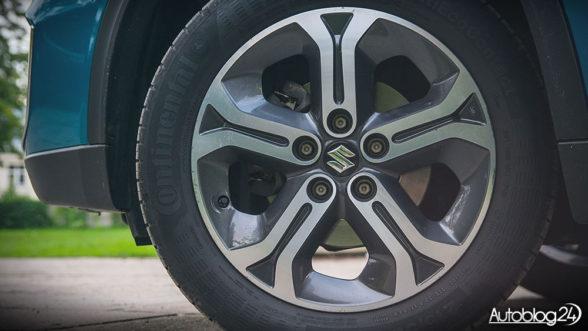 Suzuki Vitara 2016 - felgi aluminiowe