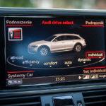 Audi A6 Allroad wnętrze - 07