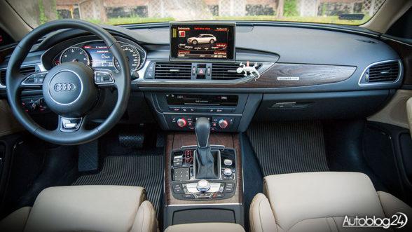 Audi A6 allroad - wnętrze