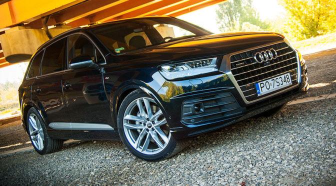 Audi Q7 3,0 TFSI V6 Quattro. SUV za pół miliona złotych - TEST