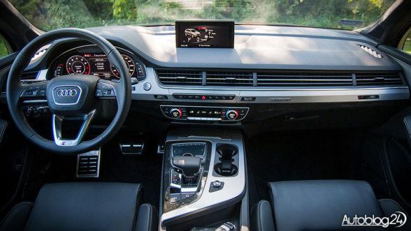 Audi Q7 2016 - wnętrze