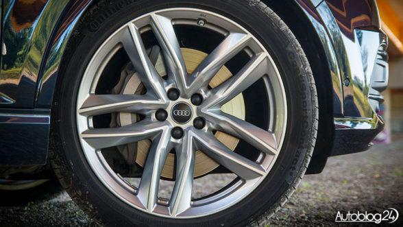 Audi Q7 - felgi 21 cali