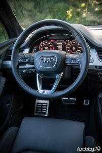 Audi Q7 zdjęcia wnętrza - 02