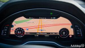 Audi Q7 - zegary i nawigacja