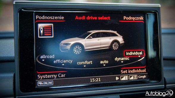 Audi drive select w A6