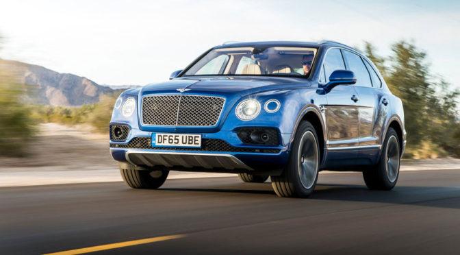Bentley Bentayga – przyspieszenie na wideo. Brzydki, ale bardzo szybki SUV