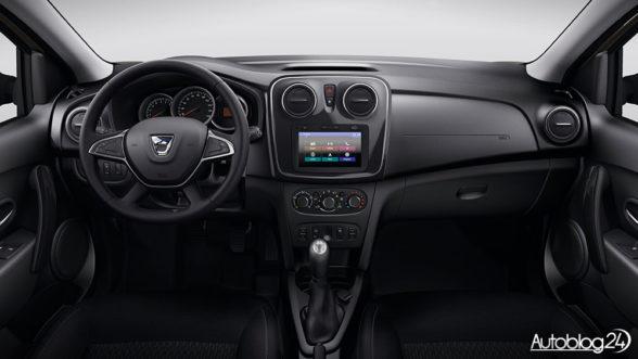 Dacia Logan 2016 - wnętrze po liftingu