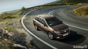 Dacia Logan MCV - lifting z 2016 roku