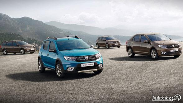 Dacia Logan i Sandero - facelifting 2016