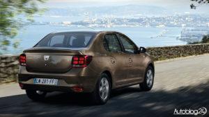 Dacia Logan sedan - zmiany na 2016 rok