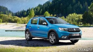 Dacia Sandero Stepway - wersja z 2016
