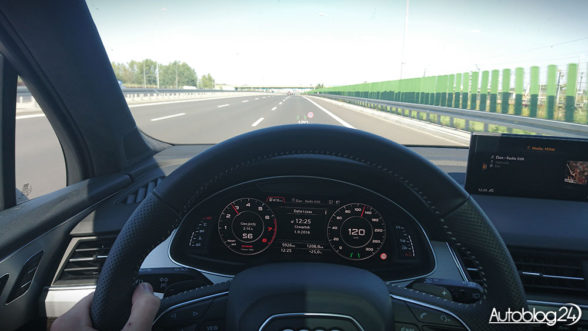 Nowe Audi Q7 - jazda