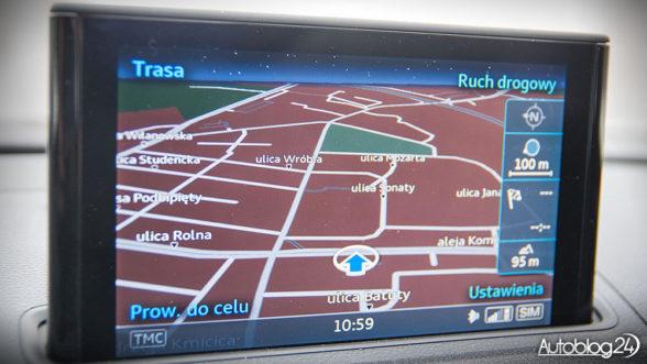 Audi A3 - nawigacja
