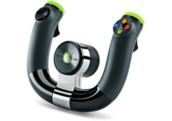 Bezprzewodowa kierownica Xbox 360