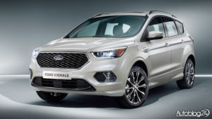 Ford Kuga Vignale 2017