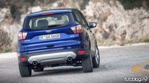 Ford Kuga - facelifting zmienia styl tego auta