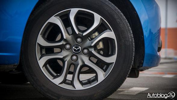 Mazda 2 - felgi w rozmiarze 16 cali