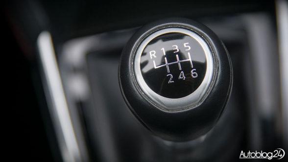 Mazda 2 - manualna skrzynia biegów