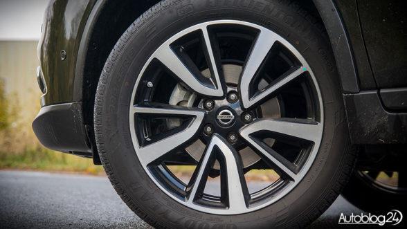 Nissan X-Trail - felgi o rozmiarze 19 cali