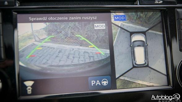 Nissan X-Trail - kamery 360 stopni ułatwiają życie