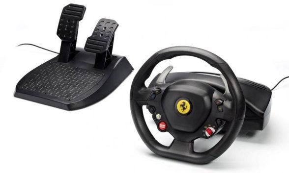 Thrustmaster Ferrari 458 Italia - jedyna kierownica na Xbox 360